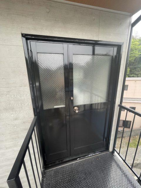 事務所ドア塗装