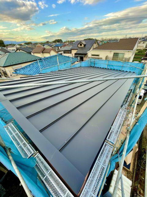 ガルバニウム鋼板 屋根