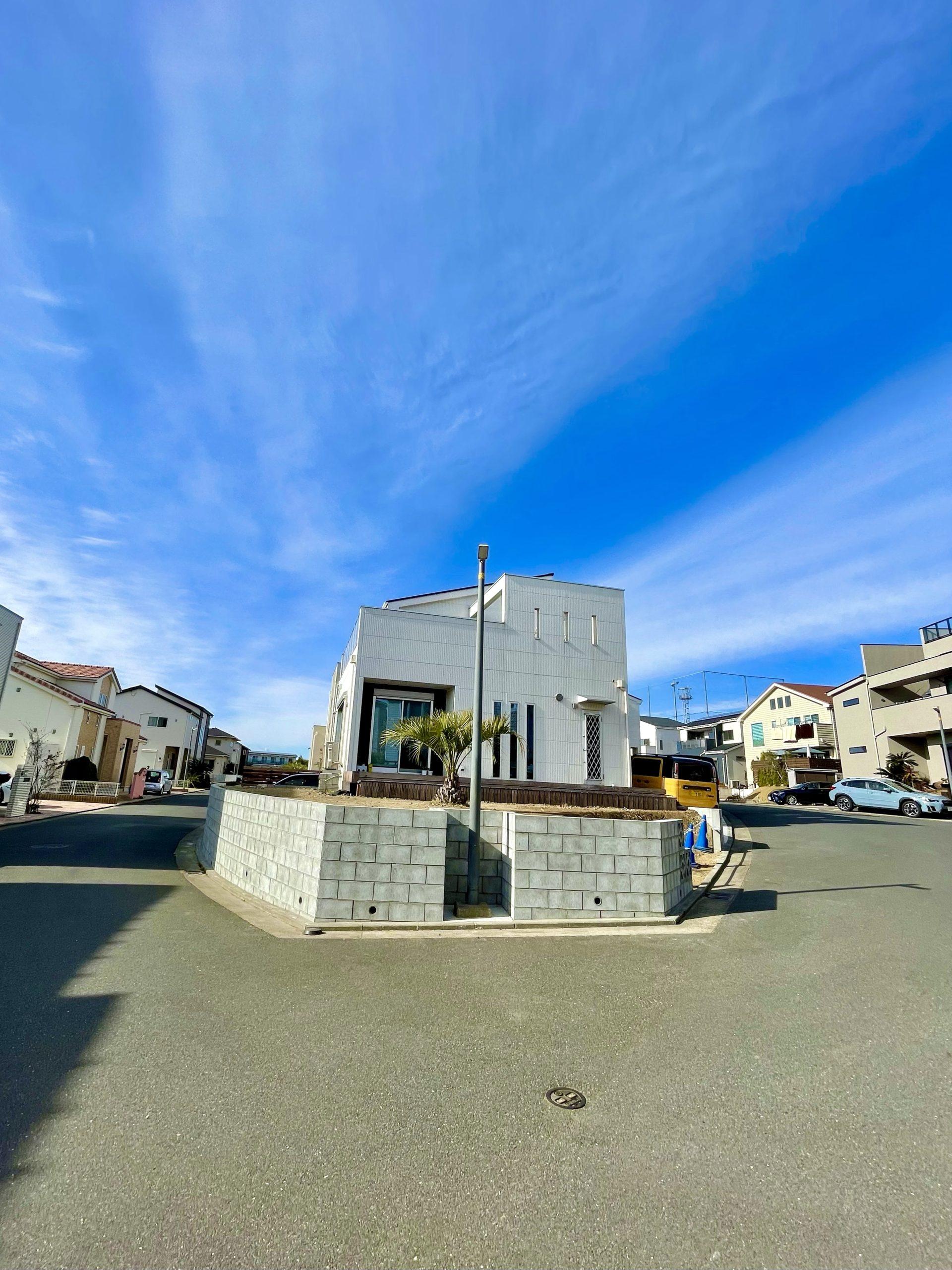 佐島の丘のmodel house